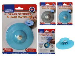 36 Units of Drain Stopper And Hair Catcher - Plumbing Supplies