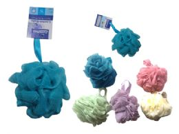 144 of Loofah Ball Assorted Color