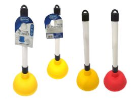 24 Units of Mini Toilet Plunger - Plumbing Supplies