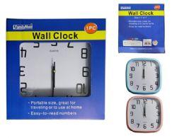 24 Wholesale Square Wall Clock