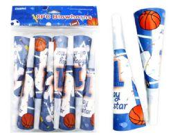 144 Wholesale Party Horn Sport Design