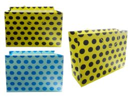96 Wholesale Polka Dot Gift Bag
