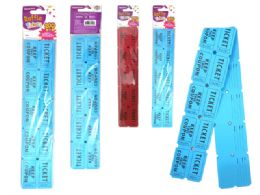 96 Wholesale 200 Piece Raffle Tickets