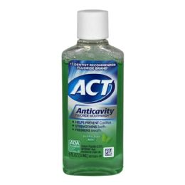 72 Units of 1fl Oz Act Anticavity Fluoride Mouthwash - Hygiene Gear