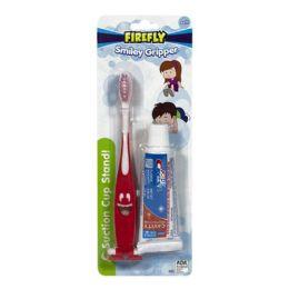 36 Units of Crest Kids & Smiley Gripper Toothbrush - 0.85 Oz. - Hygiene Gear