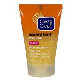 6 Bulk Clean Clear Morning Burst Facial Scrub 1 Oz.