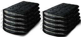 10 Bulk Camping Lightweight Sleeping Bag 3 Season Warm & Cool Weather Black