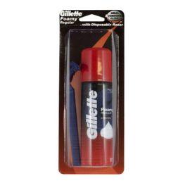 36 Units of Gillette Foamy Razor 2 Oz. Carded - Hygiene Gear
