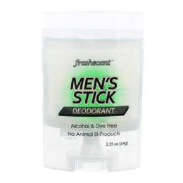 144 Units of Freshscent 2.25 Oz. Mens Stick Deodorant - Deodorant