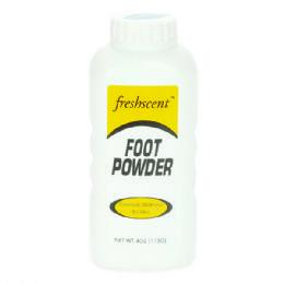 96 Bulk Freshscent 4 Oz. Foot Powder
