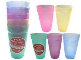 96 Units of 5 Piece Tumbler Cups - Plastic Drinkware