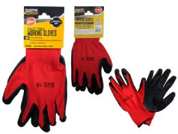 144 Units of 2pc Dipped Working Gloves - Working Gloves