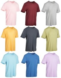 Wholesale Yacht & Smith Mens Assorted Color Slub T Shirt With Pocket - Size xl
