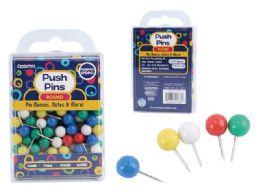 96 Wholesale Push Pins Round