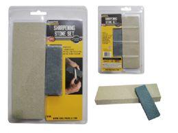24 Units of Sharpening Stone - Hardware Miscellaneous