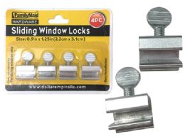 96 Units of 4pc Sliding Windows Locks - Hardware Miscellaneous
