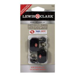 12 Wholesale Cable Lock - Lewis N Clark Cable Lock Pack Of 2