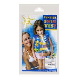 24 Units of Vest - Intex Vest Ages 3 To 5 - Beach Toys