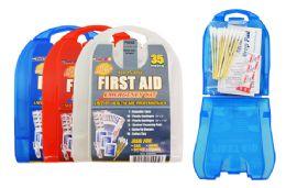 66 Bulk 37 Piece First Aid Kit