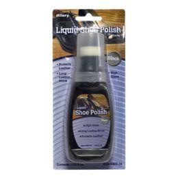 72 Units of Black Shoe Polish - Allary Liquid Shoe Polish Black 2.53 Oz. - Footwear & Shoes