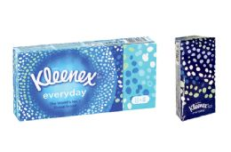 18 Units of Kleenex Pocket Tissues - Tissues