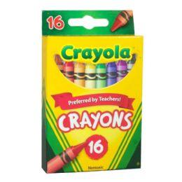 72 Units of Crayola Crayons Box Of 16 - Crayon