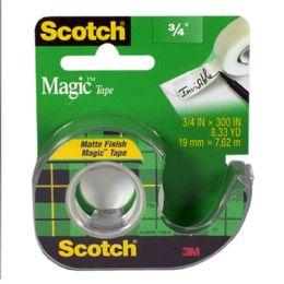 72 Units of Magic Tape - Scotch Magic Tape 3/4 Inch - Tape & Tape Dispensers