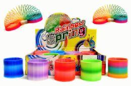 72 Units of Rainbow Slinky - Novelty Toys