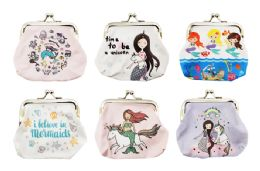 60 Units of Mermaid Snap Coin Purse - Coin Holders & Banks