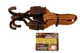 12 Wholesale 2 Piece Fat Bungee Cords