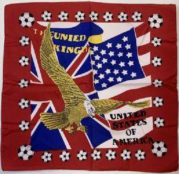 120 Units of Eagle Flag Bandana - Bandanas