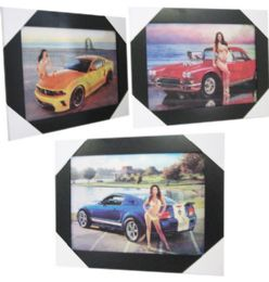 12 Units of Beauty And Speed Canvas Picture Wall Art - Wall Decor