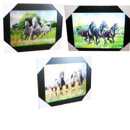12 Units of Horse Meadow Canvas Picture Wall Art - Wall Decor