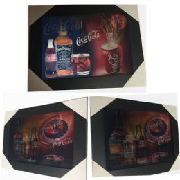 12 Units of Whiskey And Coke Canvas Picture Wall Art - Wall Decor