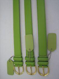 96 of Skinny Green Belt Thin Waist Jeans Belt For Pants In Pin Buckle Belt