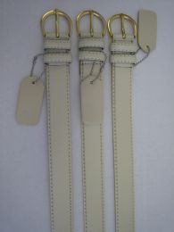 96 of Skinny White Belt Thin Waist Jeans Belt For Pants In Pin Buckle Belt