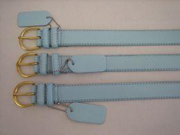 96 of Skinny Sky Blue Belt Thin Waist Jeans Belt For Pants In Pin Buckle Belt