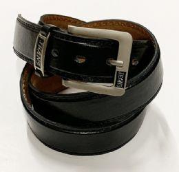 48 of Mens Belts Jeans Assorted Color