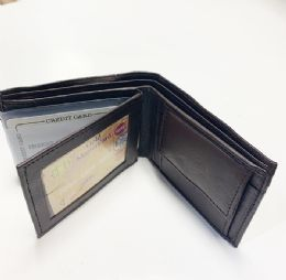 24 Units of Bi Folded Wallet In Brown - Leather Wallets