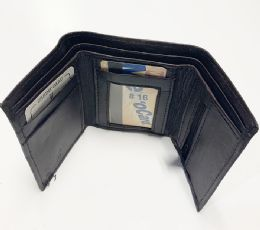24 Units of Tri Folded Wallet In Brown - Leather Wallets
