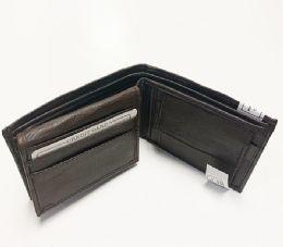 24 Units of Brown Bi Fold Wallet - Leather Wallets