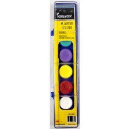 48 Units of Water Color Paint Set 8 Colors Brush - Paint