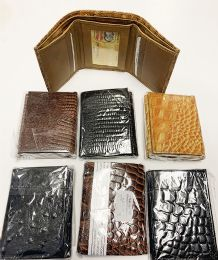 24 Units of Men TrI-Fold Leather Wallets - Leather Wallets