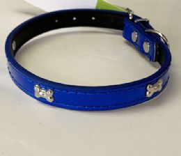 72 Units of Mini Dog Cat Collar In Assorted Color - Pet Collars and Leashes