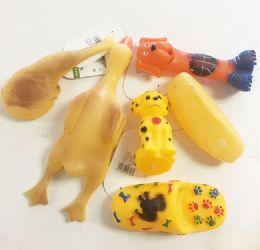 72 Units of Pet Squeak Toys - Pet Toys