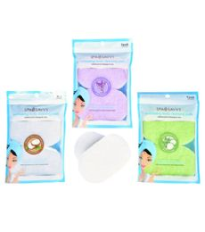 96 Units of 2 Piece Exfoliating Body Cleansing Pads - Loofahs & Scrubbers