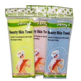 144 Bulk Jenny Beauty Cloth Shower Skin