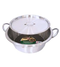 5 Units of Stainless Steel Cazo With Lid - Stainless Steel Cookware