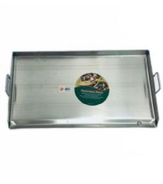 Stainless Steel Heavy Duty Griddle Plate - Stainless Steel Cookware