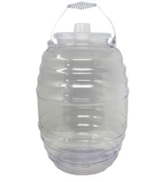 5 Units of 5 Gallon Plastic Barrel With Lid - Drinking Water Bottle